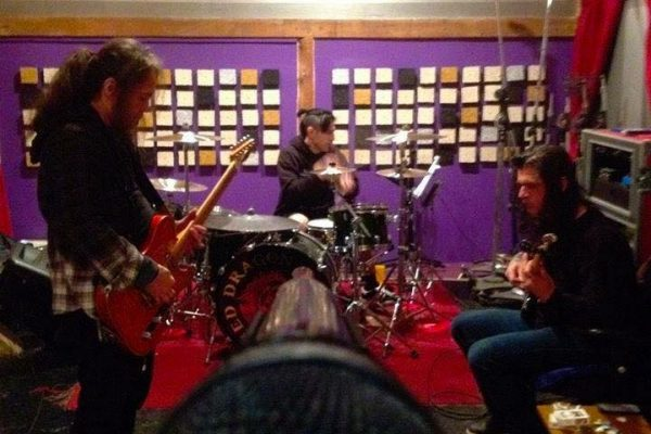 Tracking Red Dragon Cartel in the live room at Obscenic Arts - February 15, 2017