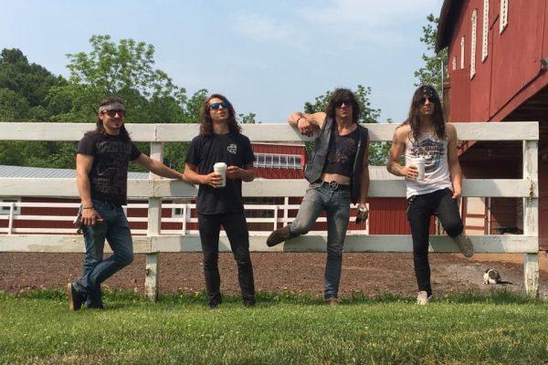 War Brothers at Obscenic Arts recording studio in Dillsburg, PA